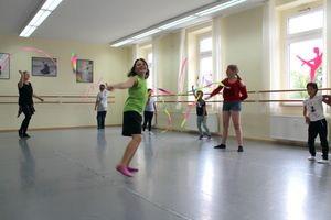 Hip-Hop-Workshop in der Tanzschule am Sauerlandpark.